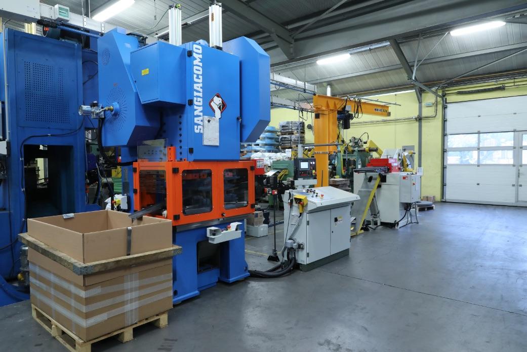 Machine emboutissage presse 100 tonnes