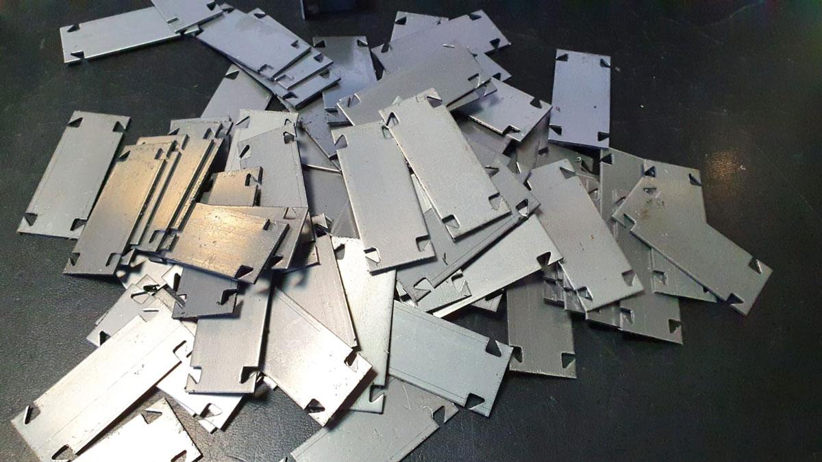 Découpe pièces panneau solaire ecosun